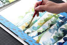 Aquarelle / Techniques and inspirations