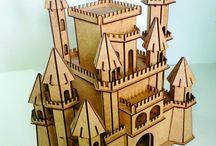 архитектура из фанеры