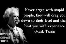 Mark Twain / Quotes from Mark Twain