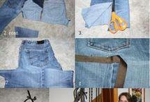 jeans schorten