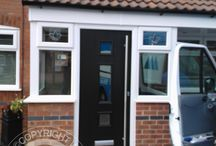 Solidor Genoa Timber Composite Door / Selection of images featuring the Solidor Genoa Timber Composite Door installed by ourselves part of the Italia Collection