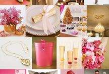 Pink & Gold Wedding Fabulosity / For my friend Chera!