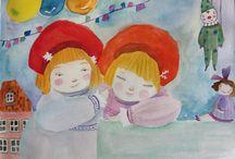 Mis Ilustraciones / En este tablero quiero compartir las ilustraciones elaboradas por mi