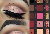 huda eye makeup