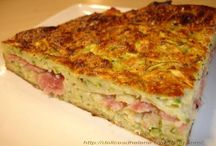tarte courgettes/jambon