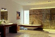 Decoracion de Baños / Aquí tienes diferentes ideas para la decoración de baños modernos, rusticos, minimalistas, elegates, clasico  y más.