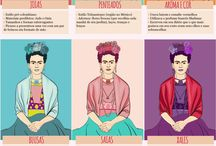 Frida Kahlo and other strong women