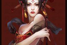 Geisha art japan