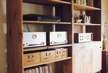 Record Player & CD Storage