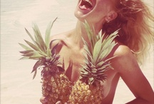 Ananamania / Okay... I admit... I have an obsession for Ananas! I can't help it!