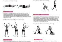 Fitness exercices