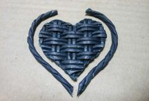 serca papierowa wiklina