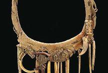 Ethnic, tribal, ancient jewelry