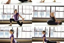 Yoga inspiration and fitness