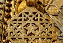 brass door morocco