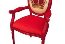 Кресло с вышивкой
