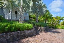 Villa Bel Esprit / This truly exceptional property, ensconced in tropical gardens with a spectacular view of Lorient Bay, is offered for consideration to discriminating buyers.