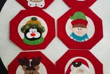 Individuales navideños