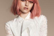 peach hair