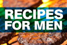 Meals Made for Men / Guy-tested recipes, from healthy breakfasts to the ultimate grilling guide, to everything delicious in between.  Recipes by the editors of Men's Health, Playboy, Thrillist, and Panna Cooking. / by Men's Health
