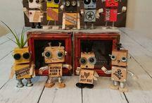 robôs madeira