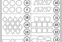 Shapes and Numbers ESL