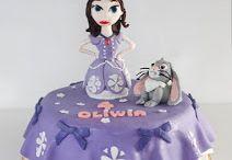 Tort Princess Sophie / cake