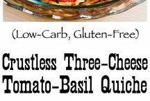crustless quiche