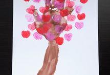 Valentine craft / by Kristen Easter