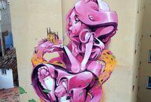 Graffiti, murales