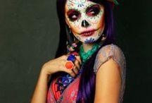 Мексика день мертвых макияж