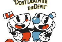 Cuphead and Mugman!!!!!!!!!!!!!!!!!!!