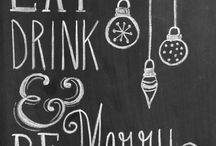 Wine Themed Chalkboard