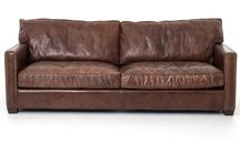 3 seather kudu leather couch
