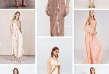 Blush Bridesmaids Dresses Inspiration