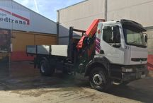 Sales trucks crane Spain Bedtrans Company / Specialists used trucks and cranes. We have a large stock of the best brands.