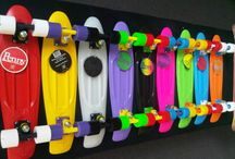 Penny boards/skateboards / I loved these really cool skateboards or penny boards. I want one so bad but my parents won't let me! / by Kyley Evans