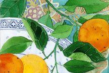 Painting - Gabby Malpos & Mango Frooty