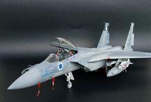 "IDF AF F-15 STRIKE EAGLE BAZ ""TWIN TAIL SQUADRON"" / http://www.gmodelart.com/2018/03/idf-af-f-15b-strike-eagle-baz-twin-tail.html"
