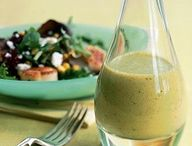 Healthy Dressing Recipes / Salad is only as healthy as what you put on it!