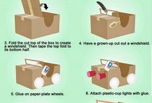 activities for toddlers using cardboard