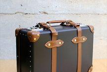 leather suitecase