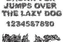 Jeux d'écriture et typographie