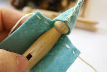 Peg Craft / Making peg people, toys, etc
