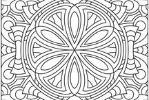 colouring patterns