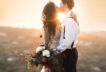 magical wedding scenery