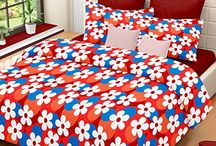 Jiya decor 100% Cotton Double Bed Sheet with 2 Pillow cover