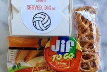 Volleyball snacks