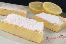 mattonella ricotta limone