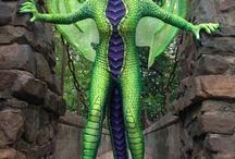 Kostüm - - - Drachen